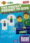 Scout Shops Mini Figs t-shirts flyer