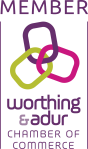 Worthing and Adur Chamber of Commerce member logo